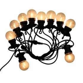 V-TAC Girlanda Ogrodowa   (sznur) 6W LED 5 metr&243w 10 żar&243wek 0,6W Filament 3000K VT-71510