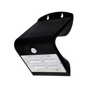 V-TAC Projektor Solarny 3W LED 3000K+4000K Czarny VT-768   400lm
