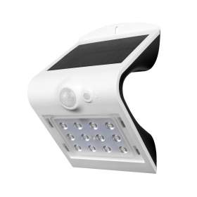 V-TAC Projektor Solarny 1.5W LED VT-767-2 4000K+4000K Biały+Czarny   220lm