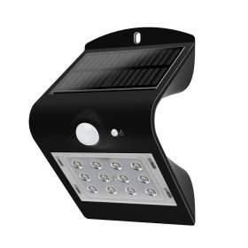 V-TAC Projektor Solarny 1.5W LED VT-767-2 4000K+4000K Czarny+Czarny   220lm