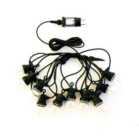 V-TAC Girlanda Ogrodowa Solarna LED   5 metr&243w 10 żar&243wek Filament VT-71010 3000K