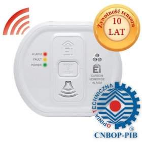 SERIA PROFESSIONAL Czujnik tlenku węgla CNBOP Ei Electronics