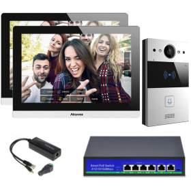 """AKUVOX Zestaw Jednorodzinny 2x Monitor 10"""" C317A"""