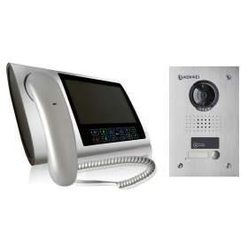 Zestaw wideodomofonowy 7'' kolorowy KW-S700C-S-W200/KW-1370EMC-1B