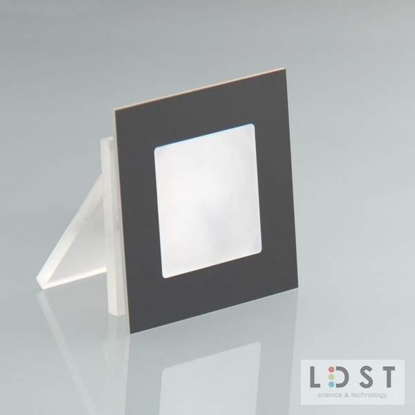 Oprawa LED ANGEL 9LED 230V 1,2W - szczotkowana czarny