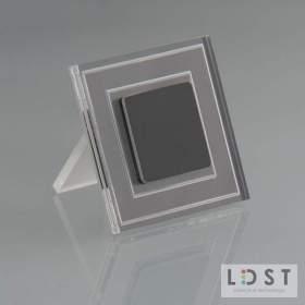 Oprawa LED KELLY 8LED 230V 1,2W - szczotkowany czarny