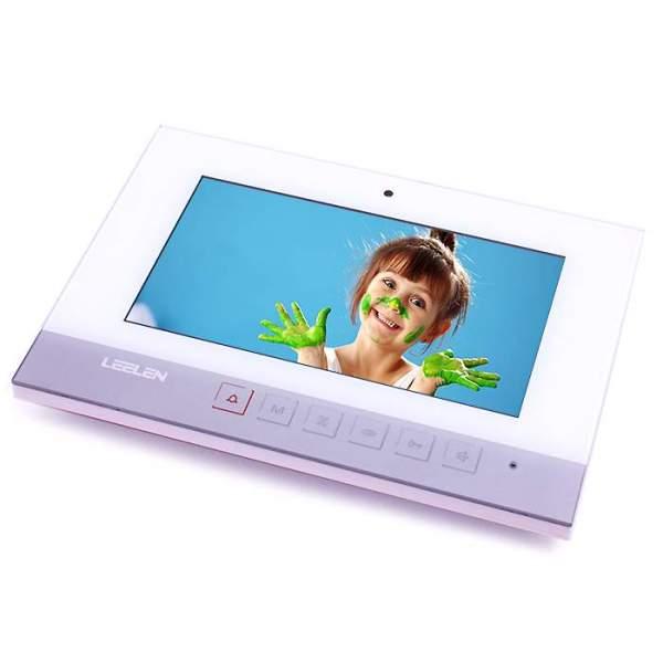 """Wideodomofon 7"""" N75B/No15nc+3xbrelok (z czytnikiem)"""